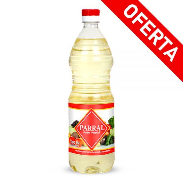 Aceite Vegeral Parral 900 Ml