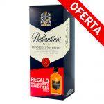 Whisky-Ballantines-+-Petaca-Hard-Fire-200-Cc